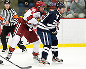 Dan Ford (Harvard - 5), Jesse Root (Yale - 20) - The Yale University Bulldogs defeated the Harvard University Crimson 5-1 on Saturday, November 3, 2012, at Bright Hockey Center in Boston, Massachusetts.