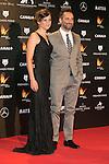 Leonor Watling and Jorge Drexler attends the Feroz Cinema Awards 2015 at Las Ventas, Madrid,  Spain. January 25, 2015.(ALTERPHOTOS/)Carlos Dafonte)