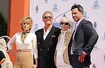 HOLLYWOOD, CA- APRIL 27: Actors Jane Fonda, Peter Fonda, Shirlee Mae Adams and Troy Garity attend actress Jane Fonda's Handprint/Footprint Ceremony during the 2013 TCM Classic Film Festival at TCL Chinese Theatre on April 27, 2013 in Los Angeles, California.