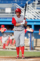 Williamsport Crosscutters second baseman Cody Asche #19 during the first game of a doubleheader against the Batavia Muckdogs at Dwyer Stadium on August 23, 2011 in Batavia, New York.  Batavia defeated Williamsport 2-1.  (Mike Janes/Four Seam Images)