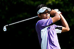 SHENZHEN, CHINA - OCTOBER 31: Tao Huang of Taiwan tees off on the 5th hole during the day three of Asian Amateur Championship at the Mission Hills Golf Club on October 31, 2009 in Shenzhen, Guangdong, China.  (Photo by Victor Fraile/The Power of Sport Images) *** Local Caption *** Tao Huang