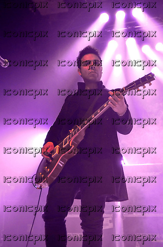 STEREOPHONICS - guitarist Adam Zindani - performing live at the Electric Brixton in London UK - 04 Mar 2013.  Photo credit: George Chin/IconicPix