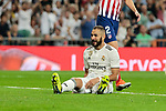 Real Madrid's Karim Benzema during La Liga match between Real Madrid and Atletico de Madrid at Santiago Bernabeu Stadium in Madrid, Spain. September 29, 2018. (ALTERPHOTOS/A. Perez Meca)