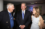 Rev. James Parks Morton, Al Gore and Karenna Gore Schiff attend the 12th Annual James Parks Morton Interfaith Awards Dinner at The Hilton Hotel Midtown on June 5, 2014 in New York City.