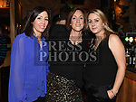 Alison Martin, Jennifer Nash and Lynn O'Brien at St Colmcilles Movember event in the d hotel. Photo:Colin Bell/pressphotos.ie