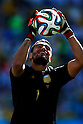 Sergio Romero (ARG), JULY 1, 2014 - Football / Soccer : FIFA World Cup Brazil 2014 Round of 16 match between Argentina 1-0 Switzerland at Arena de Sao Paulo in Sao Paulo, Brazil. (Photo by D.Nakashima/AFLO)