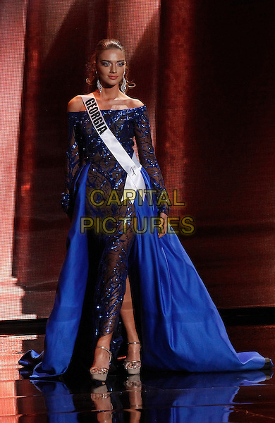 16 December 2015 - Las Vegas, Nevada -  Miss Georgia, Janet Kerdikoshvili.  2015 Miss Universe Preliminary Competition at Axis at Planet Hollywood Resort and Casino. <br /> CAP/ADM/MJT<br /> &copy; MJT/AdMedia/Capital Pictures
