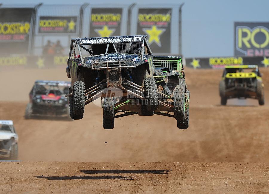 Mar. 19, 2011; Chandler, AZ, USA;  LOORRS utv driver Chad George during round one at Firebird International Raceway. Mandatory Credit: Mark J. Rebilas-