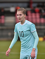 20171123 - TUBIZE , BELGIUM : Russian Abdulina pictured during a friendly game between the women teams of the Belgian Red Flames and Russia at complex Euro 2000 in Tubize , Thursday  23 October 2017 ,  PHOTO Dirk Vuylsteke | Sportpix.Be