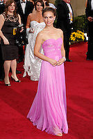 Natalie Portman arrives at the 81st Annual Academy Awards held at the Kodak Theatre in Hollywood, Los Angeles, California on 22 February 2009