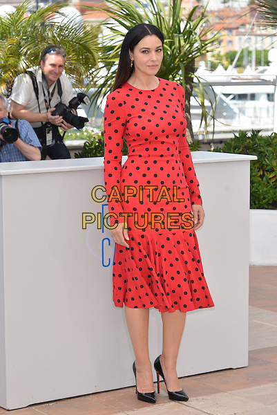 CANNES, FRANCE - MAY 18: Monica Bellucci attends the 'La Meraviglie' photocall during the 67th Annual Cannes Film Festival on May 18, 2014 in Cannes, France.on May 18, 2014 in Cannes, France.<br /> CAP/PL<br /> &copy;Phil Loftus/Capital Pictures