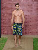 Marcus Santos at Julia Veli Swimwear Show during Funkshion Fashion Swim Week 2013 at Miami Beach, FL on July 19, 2012