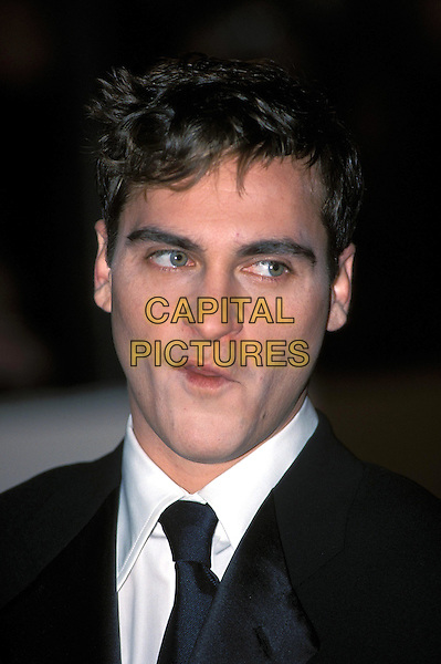 JOAQUIN PHOENIX.Arrivals At Bafta Awards.Ref: 10400/A.headshot, portrait, pursed lips.www.capitalpictures.com.sales@capitalpictures.com.©Capital Pictures.