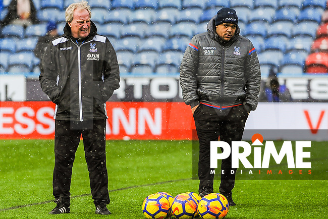 Crystal Palace's assistant manager Ray Lewington  during the EPL - Premier League match between Huddersfield Town and Crystal Palace at the John Smith's Stadium, Huddersfield, England on 17 March 2018. Photo by Stephen Buckley / PRiME Media Images.