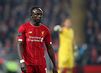5th November 2019; Anfield, Liverpool, Merseyside, England; UEFA Champions League Football, Liverpool versus Genk; Sadio Mane of Liverpool  - Editorial Use