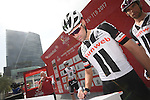 Tom Dumoulin (NED) Sunweb at sign on before the start of Stage 2 the Nation Towers Stage of the 2017 Abu Dhabi Tour, running 153km around the city of Abu Dhabi, Abu Dhabi. 24th February 2017<br /> Picture: ANSA/Claudio Peri | Newsfile<br /> <br /> <br /> All photos usage must carry mandatory copyright credit (&copy; Newsfile | ANSA)