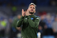 Dries Mertens of Napoli greets during the warm up<br /> Napoli 05-11-2019 Stadio San Paolo <br /> Football Champions League 2019/2020 Group E<br /> SSC Napoli - FC Salzburg<br /> Photo Cesare Purini / Insidefoto