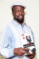 PHILADELPHIA, PA - OCTOBER 1 :  Wyclef Jean photographed exclusively backstage before his book event,  Purpose, An Immigrant's Story at the Free Library in Philadelphia, Pa on October 1, 2012  ***EXCLUSIVE***  © Star Shooter / MediaPunch Inc /NortePhoto