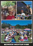 FB 226.  Redwood Mountain Faire.  5x7 postcard