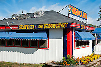 Seafood shack  near York, Maine, ME, USA