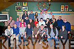 BIRTHDAY: A big night for Declan Mccann Fenit as his wife Mags put on a surprise 40th birthday party for him at The Ballyheigue Golf Club, on Saturday night as she invited Declans framily and friends to the party.(Declan is seated 4th from right).