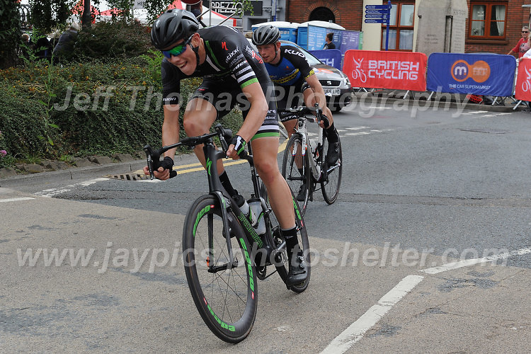 "Competitors at the beginning of another lap of the ""Mardy"" circuit during the Abergavenny Festival of Cycling ""Grand Prix of Wales"" race on Sunday 17th 2016<br /> <br /> <br /> Jeff Thomas Photography -  www.jaypics.photoshelter.com - <br /> e-mail swansea1001@hotmail.co.uk -<br /> Mob: 07837 386244 -"