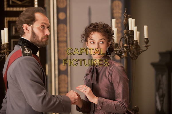 Jude Law & Keira Knightley .in Anna Karenina (2012).*Filmstill - Editorial Use Only*.CAP/FB.Supplied by Capital Pictures.