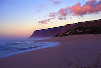 Sunset at Polihale beach, far west end of Kauai