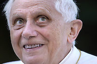 Pope Benedict XVI general audience in Saint Peter's Square; 2006.. December. 25, 2007.. .