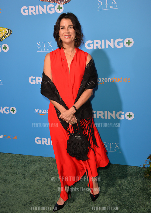 Rebecca Yeldham at the world premiere for &quot;Gringo&quot; at the L.A. Live Regal Cinemas, Los Angeles, USA 06 March 2018<br /> Picture: Paul Smith/Featureflash/SilverHub 0208 004 5359 sales@silverhubmedia.com