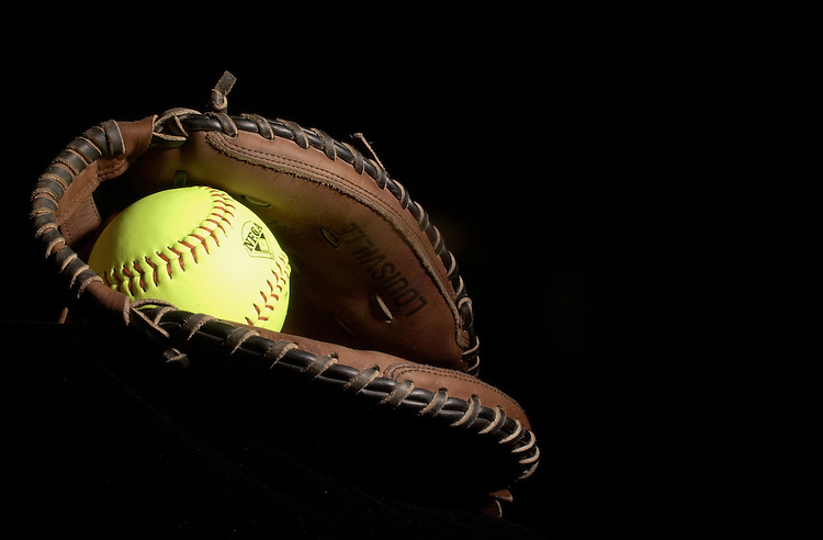 Softball & Glove Element for Media Guide