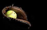 Softball & Glove Element for Media Guide
