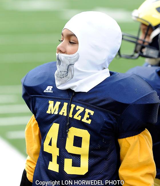 Washtenaw Junior Wolverines Maize vs Blue football games at Michigan Stadium, Saturday, October 26, 2013.