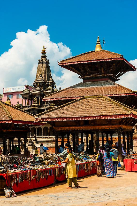 Durbar Square, Patan (Lalitpur), Kathmandu Valley, Nepal.