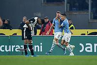 Sergej Milinkovic Savic of Lazio celebrates after scoring a goal<br /> Roma 7-12-2019 Stadio Olimpico <br /> Football Serie A 2019/2020 <br /> SS Lazio - Juventus<br /> Foto Antonietta Baldassarre / Insidefoto