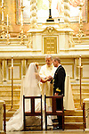 Wedding Ceremony<br /> Mass at St. Ignacious Church<br /> Park Avenue, Manhattan