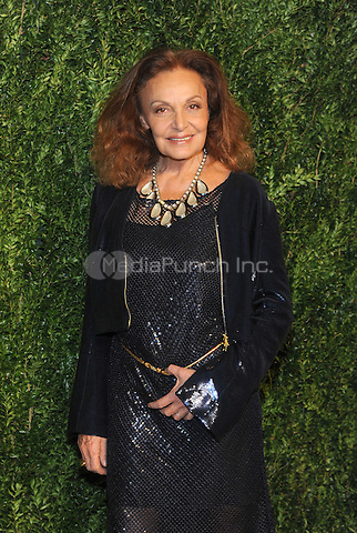 NEW YORK, NY - NOVEMBER 07: Diane von Furstenberg attends 13th Annual CFDA/Vogue Fashion Fund Awards at Spring Studios on November 7, 2016 in New York City. Photo by John Palmer/ MediaPunch