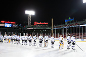 - The Williams College Ephs defeated the Trinity College Bantams 4-2 (EN) on Tuesday, January 7, 2014, at Fenway Park in Boston, Massachusetts.