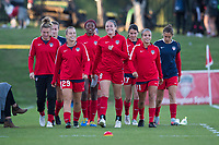 Boyds, MD - Saturday September 30, 2017: Washington Spirit during a regular season National Women's Soccer League (NWSL) match between the Washington Spirit and the Seattle Reign FC at Maureen Hendricks Field, Maryland SoccerPlex.
