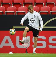 Timo Werner (Deutschland Germany) - 10.06.2019: Abschlusstraining der Deutschen Nationalmannschaft vor dem EM-Qualifikationsspiel gegen Estland, Opel Arena Mainz