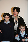 Another World's Linda Dano with grandchildren Will and   of Vivien Stern at the opening night of John Tartaglia's Imaginocean, a new family undersea musical adventure on March 31, 2010 at New World Stages, New York City, New York. John Tartaglia's ImaginOcean is an interactive family show - a magical, musical undersea adventure for kids of all ages. Tank, Bubbles, and Dorsel are three best friends who just happen to be fish, and they're about to set out on a remarkable journey of discovery. And it all starts with a treasure map. As they swim off in search of clues, they'll sing, they'll dance, and they'll make new friends -- including everyone in the audience. Ultimately, they discover the greatest treasure of all -- friendship. Jam-packed with original music ranging from swing to R&B to Big Band, John Tartaglia's ImaginOcean is a blast rom the first big splash to the last wave goodbye. (Photo by Sue Coflin/Max Photos)