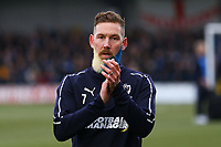 Scott Wagstaff of AFC Wimbledon during AFC Wimbledon vs Millwall, Emirates FA Cup Football at the Cherry Red Records Stadium on 16th February 2019