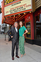 Actor John Savage &amp; actress girlfriend Blanca Blanco at the 40th anniversary screening for &quot;The Deer Hunter&quot; at the Ahrya Fine Arts Theatre, Beverly Hills, USA 29 May 2018<br /> Picture: Paul Smith/Featureflash/SilverHub 0208 004 5359 sales@silverhubmedia.com