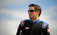 Oct. 3, 2009; Kansas City, KS, USA; NASCAR Nationwide Series driver Jeremy Clements during the Kansas Lottery 300 at Kansas Speedway. Mandatory Credit: Mark J. Rebilas-