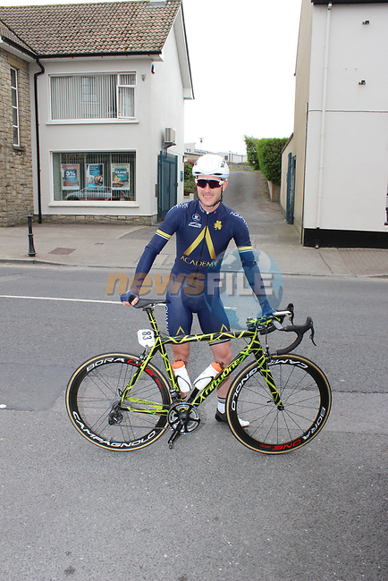 Ronan McLoughlin Aqua Blue Sport in Bundoran before the start of Stage 4 of the 2017 An Post Ras running 151.8km from Bundoran to Buncrana, Ireland. 24th May 2017.<br /> Picture: Andy Brady | Cyclefile<br /> <br /> <br /> All photos usage must carry mandatory copyright credit (&copy; Cyclefile | Andy Brady)