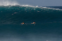 Pipeline breaking on the North Shore in Hawaii