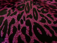 BOGOTÁ-COLOMBIA-23-01-2013. Fondo rosado en forma de animal print. Background animal print. (Photo:VizzorImage)