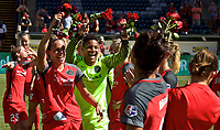 Portland, OR - Saturday September 02, 2017: Emily Menges, Adrianna Franch during a regular season National Women's Soccer League (NWSL) match between the Portland Thorns FC and the Washington Spirit at Providence Park.