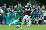 28.07.2017, Sportplatz, Schneverdingen, GER, FSP SV Werder Bremen (GER) vs WestHam United (ENG), <br /> <br /> im Bild<br /> <br /> Niklas Schmidt (Werder Bremen #38)<br /> <br /> Foto &copy; nordphoto / Kokenge