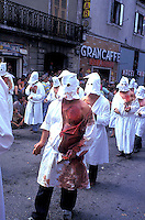 Septennial feast of Battenti Guardia Sanframondi Campania Italy..